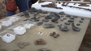 Pompei'deki yeni kazılarda çıkarılanlar