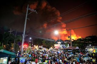 منیلا میں آتشزدگی