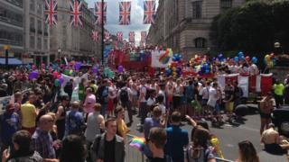 Pride March in London