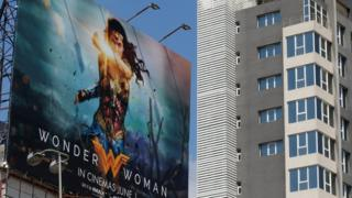 Iklan film Wonder Woman