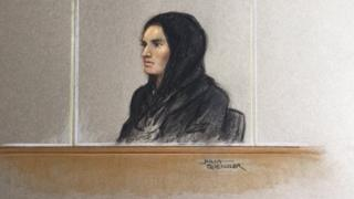 Madihah Taheer in court