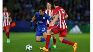 Leicester n'a pas réussi à revenir à la hauteur des Colchoneros qui se sont bien défendu pour conserver leur avantage d'un but arraché à l'aller à Madrid.
