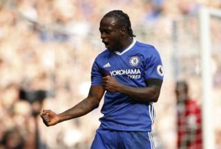 Victor Moses alifungia Chelsea bao la tatu