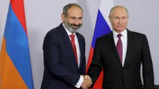 Путін зустрівся із Пашиняном через декілька днів після призначення другого прем'єром Вірменії