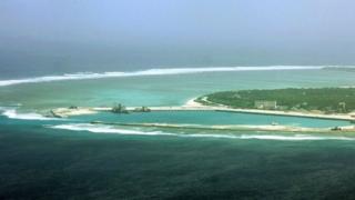ภาพทะเลจีนใต้