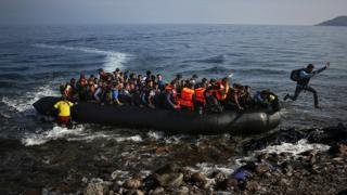 Türkiye'den Yunanistan'a giden mülteciler