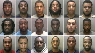 The 18 men