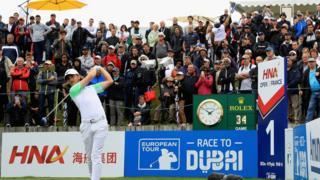 海航赞助的法国高尔夫公开赛。