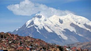 O monte Illimani