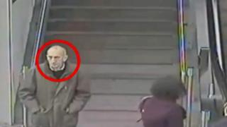 CCTV image of the man at Manchester Piccadilly station