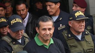 Ollanta Humala detenido