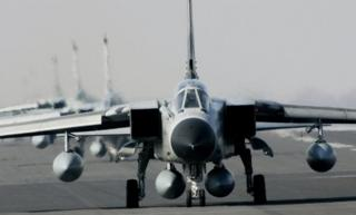 A 2007 file photo shows Tornado jets at the German Air Force base of Schleswig, northern Germany