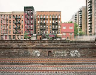 Corte del túnel de Park Avenue, Nueva York