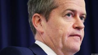 Лидер лейбористов Австралии Билл Шортен