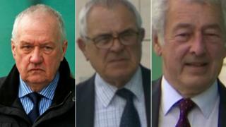 David Duckenfield, Donald Denton and Alan Foster