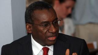 Sidiki Kaba, ministre sénégalais de la Justice, est le président de l'assemblée des Etats parties de la CPI.