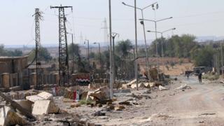 Разруха в Алеппо