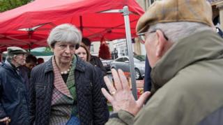 Theresa May in Oxfordshire