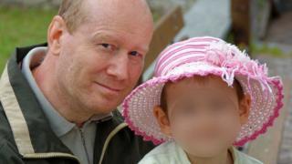 Nicola Pomaro and his daughter