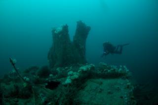 Scapa Flow dive