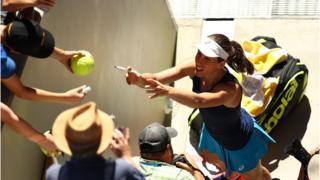 British tennis player Johanna Konta