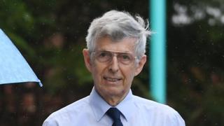 David Turner arriving at Canterbury Crown Court