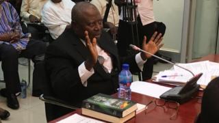 Martin Amidu wey be Ghana Special Prosecutor