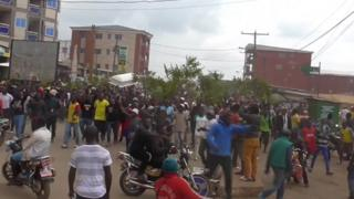 Protests in Cameroon