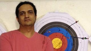 Ashraf Fayadh (undated photo)