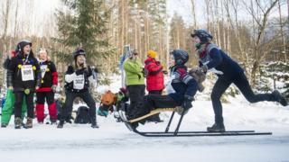 Norveç'te kızak yarışması, 11 Şubat 2017