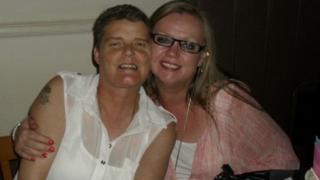 Clare Haslam, 44 and Deborah Clifton