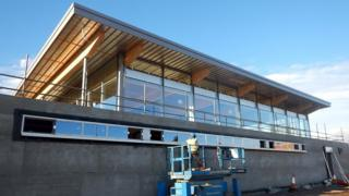 New rugby clubhouse in Inverness