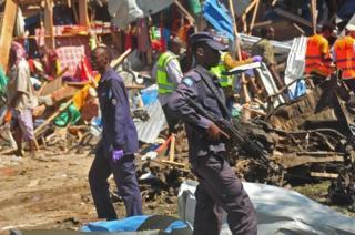 قوات الأمن الصومالية