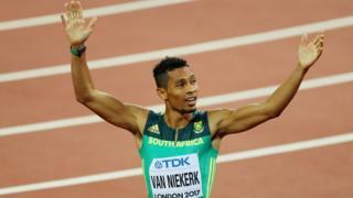 Le champion olympique en titre du 400 mètres est absent des pistes depuis octobre à cause d'une blessure.