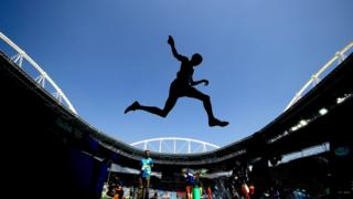 Kenya's Ezekiel Kemboi competing in the men's 3,000m steeplechase final in Rio, Brazil - Wednesday 17 August 2016