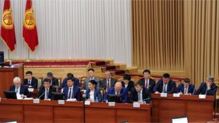 Кыргыз өкмөтүнүен жаңы курамында алты жаңы министр бар