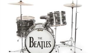 Ringo Starr's Ludwig drum kit