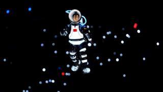 2008年北京奥运会上中国太空人表演