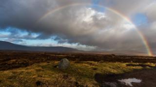Rainbow over Glencoe