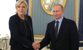 Le Pen və Putin