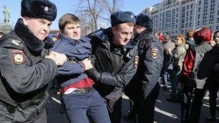 москва протест