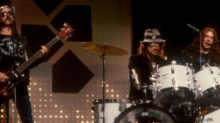 Motorhead, performing on Top of the Pops