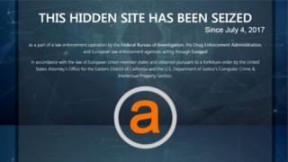 AlphaBay ถูกระงับบริการเมื่อช่วงต้นเดือน ก.ค.