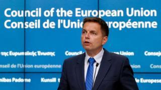 European Council President peter Kazimir