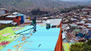 Unplanned urban sprawl, Colombia (Image: UN Habitat)