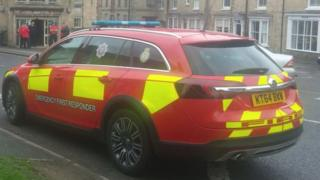 Emergency responder vehicle