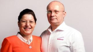 الزوجان فلورين وماريوكا تالبس