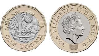 新版一英镑硬币