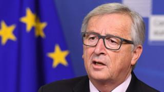欧盟委员会主席容克