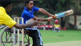 ভারতে হুইলচেয়ার ক্রিকেট ম্যাচ (ফাইল ফটো)